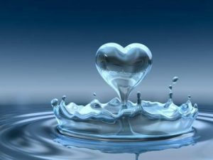 srdce z vody
