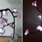 Diy třešňové květy se světýlky