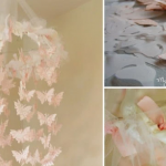 Diy motýlková dekorace