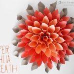Originální květina z papíru