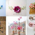 Jarní květinové ozdoby