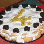 Piškotovo-jahodový dortík