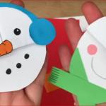 Záložky do knížky – sněhuláci