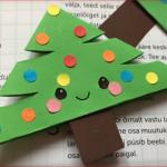 Záložka do knížky – stromeček